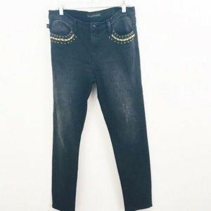 Rock & Republic Berlin Black Skinny Jeans 12